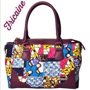 FRICAINE 💙 Charming Wink Satchel Purse Handbag